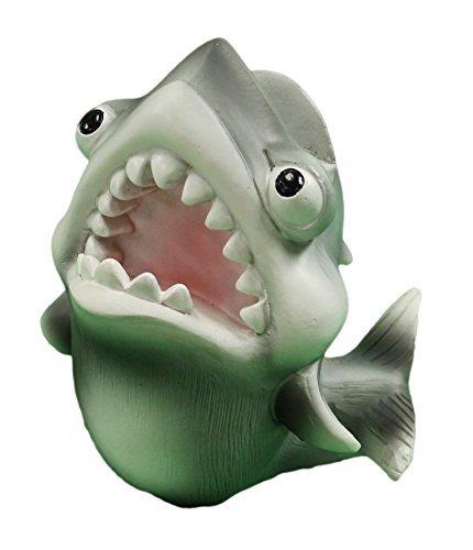 Galleon 4 inch funny shark eyeglassesbusiness card holder figurine reheart Images