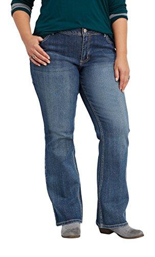 ab8fc5efb62 maurices Women s Denimflex Plus Size Bootcut Jeans In Medium Wash 16 Medium  Sandblast
