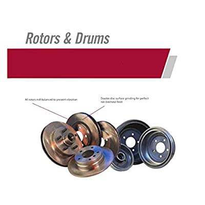 NT-ROT-46 Rear Disc Brake Pad and Rotor Kit: Automotive