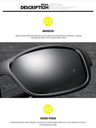 Gafas Mujer C De Hombre UV 400 para B Aviator Polarizadas Protección para Sol 4q4xpfwO