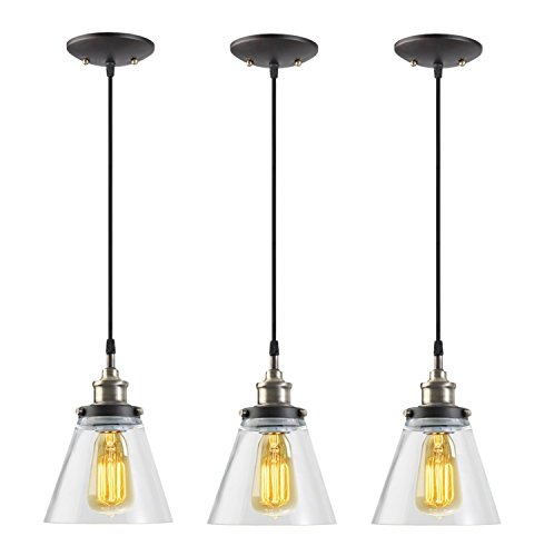 3 Bulb Pendant Light Fixture - 1