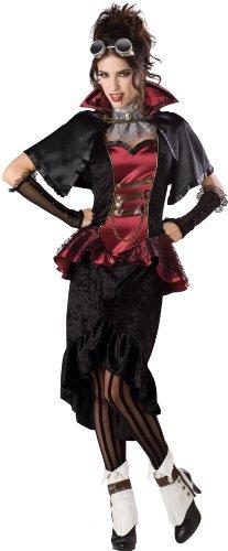 Steam (Red Vampiress Adult Costumes)