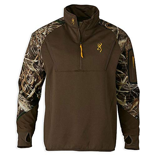 Browning Wicked Wing Timber 1/4 Fleece Medium (M/Realtree.MAX5) 3016277602
