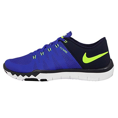 Nike garçon Deep Royal Royal 0 Free Obsidian Baskets mode Game 5 Gs Volt Blue qwA4Yxrq