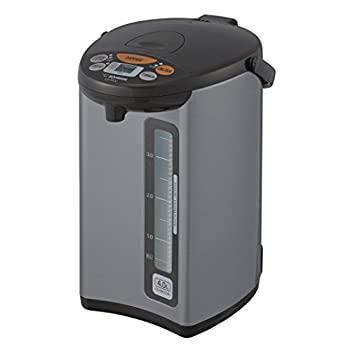 Image of Home and Kitchen Zojirushi CD-WCC40 Micom Water Boiler & Warmer, 135 oz. / 4.0 Liters, Silver