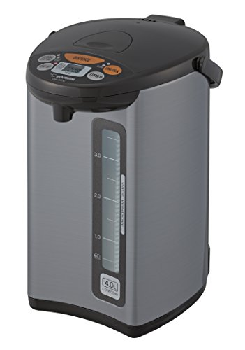 Zojirushi CD-WCC40 Micom Water Boiler & Warmer, Silver Review