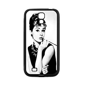 Custom Audrey Hepburn Back Cover Case for SamSung Galaxy S4 I9500 JNS4-318 by lolosakes