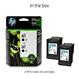 HP 61 Black Ink Cartridge (CH561WN), 2 Ink Cartridges (CZ073FN) for HP Deskjet