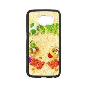 Samsung Galaxy S6 Cell Phone Case Black_Yoshi's Woolly World_001 TR2461149