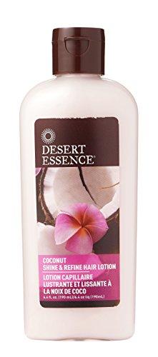 Desert Essence Coconut Shine & Refine Hair Lotion - 6.4 fl oz