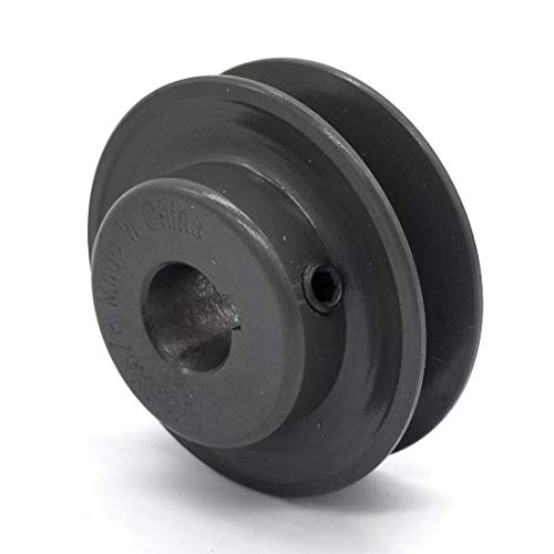 V-Groove Drive Pulley - 2.5'' Dia. - 5/8'' Bore - Cast Iron ()