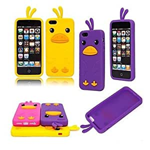 Chick Shape Silicon Case for iPhone 5/5S , Yellow