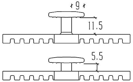 Vis terrasse en acier inoxydable sopafix /Ø 5/mm Torx 25