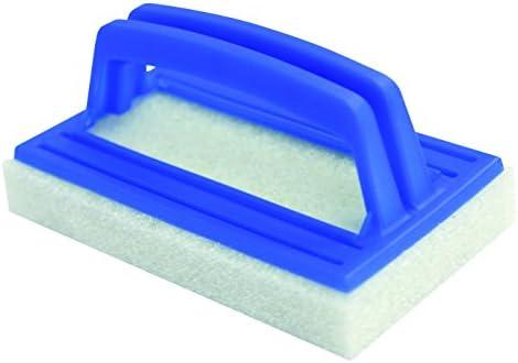 Steinbach Deluxe Poolreinigung Handschrubber, mit Griff, 145 x 85 x 25 mm, 061130