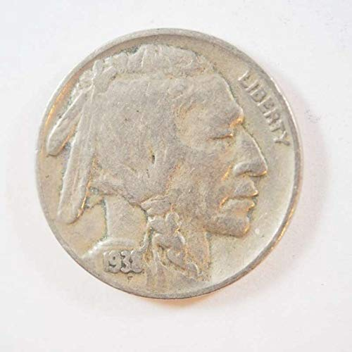 1938 D Buffalo Nickel Nickels Ungraded