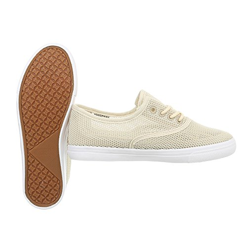 Plano para o Zapatillas Bajas Mujer Tama Zapatillas 39 Zapatos Beige 1xqw6nC17
