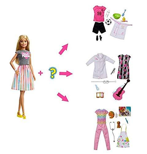 Barbie - Barbie Profissão Surpresa, Mattel, GFX84, Multicor