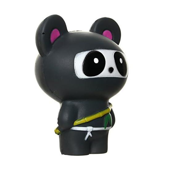 Ninja Fox & Ninja Panda   Slow Rising Jumbo Squishies 5