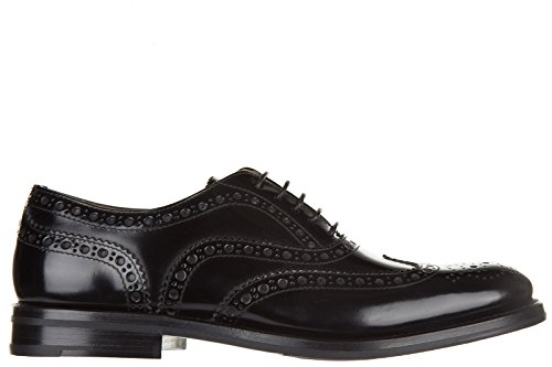 Nero Pelle in Donna Brogue Nuove CHURCH'S Stringate Scarpe Classiche 8wTBCH