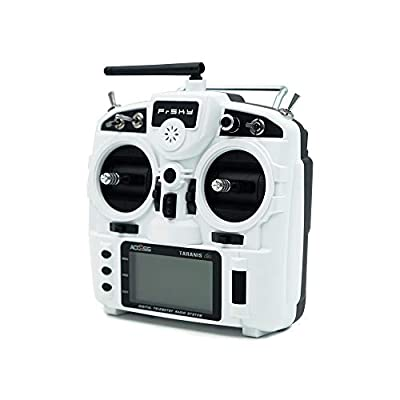 FrSky Transmitter X9 Lite with Wired Training Function 24 Channels Access Protocol(Glacier White): Toys & Games