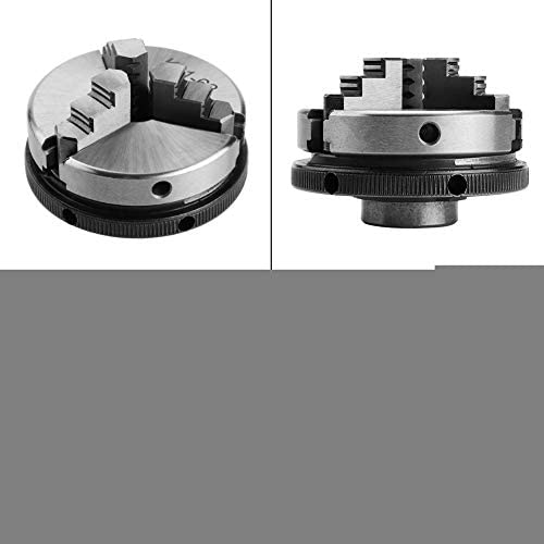 Widely Used High Centering Precision Lathe Chuck Large Clamping Range Metal Lathe Chuck Self-Centering for Industrial Machinery Metallurgy Electronics