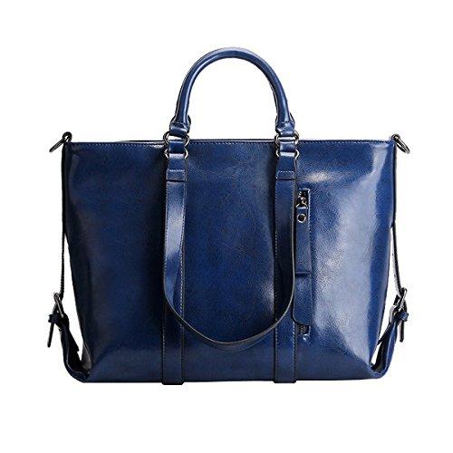 femme Sac main LF épaule à 6178 Valin portés portés Sac cuir Sac main fashion en Bleu pz8nq