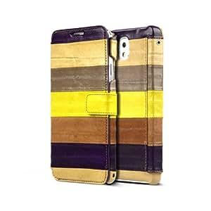 Zenus ZC1N3NEMW - Carcasa para Samsung Galaxy Note 3 n9000, marrón