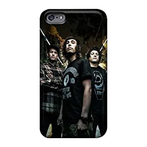 Anti-Scratch Hard Phone Covers For Iphone 6 (siL4249MRuE) Support Personal Customs Lifelike Fall Out Boy Band FOB Pattern