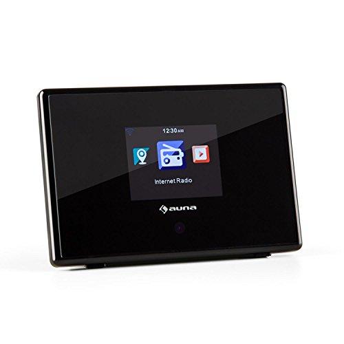 auna iAdapt 240 Internetradio-Adapter für Stereoanlage (WLAN, UKW, Dual-Alarm, 3,5 mm Klinke, 2,4