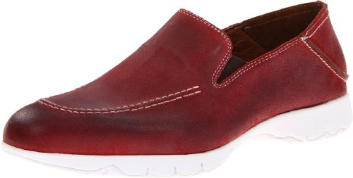 Hush Puppies Five Base Herren US 11 Rot Slipper