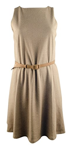Lauren Ralph Lauren Women's Plus Size Sleeveless Fit And Flare Dress-LT-3X