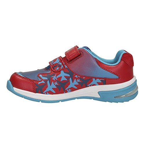 Clarks Piper Fun Inf - Zapatillas para correr en montaña de Piel para niño Gris gris Red Combi