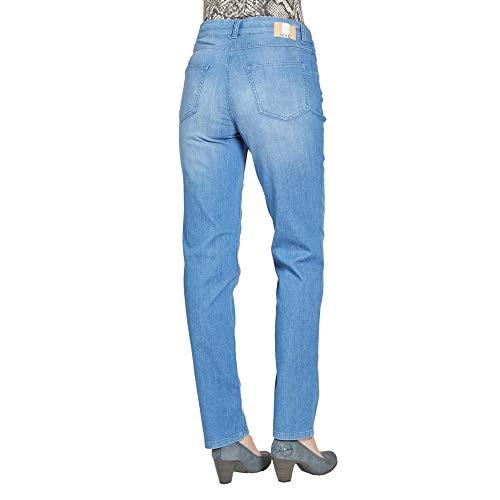 Blue Bleu D248 Wash Jeans Melanie Mac Femme Droit Light clean wH0gPqx