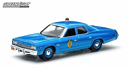 Hot Pursuit 1975 Dodge Monaco / Kansas State Police 2015 Series 15 Greenlight Collectibles 1:64 Scale Limited Edition Die-Cast Vehicle