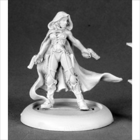 Nightslip Pulp Era Heroine Chronoscope Miniature by Reaper