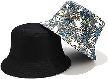 Chapeau de p/êche en Plein air Unisexe /Ét/é P/êcheur Chapeau Fleur Impression Double Face Chapeau de p/êche Casquette de Protection Solaire pour ext/érieur