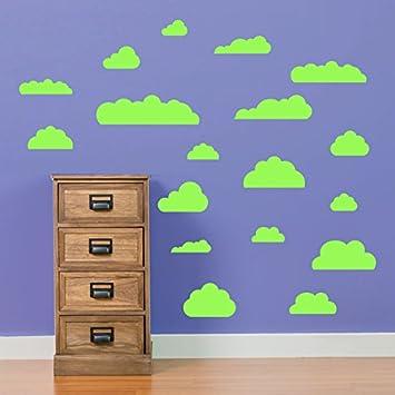 Cloud Wand Aufkleber Kinder Zimmer Kinderzimmer Schlafzimmer Schulen Wand  Dekorationen Fenster Aufkleber Wall Decor Sticker Wall