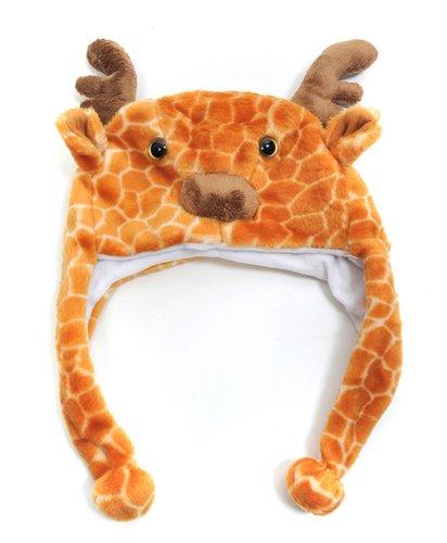 Kid's 'Hat-imals' Giraffe Plush Winter - For Kids Hatimals