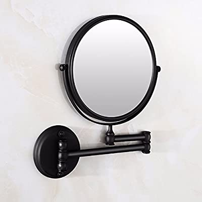 Amazon Com Waobe Wall Mounted Led Makeup Mirrors 10x