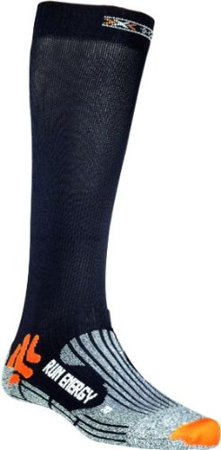 X-Socks Funktionssocken Run Energizer, Black, 42/44, X020327