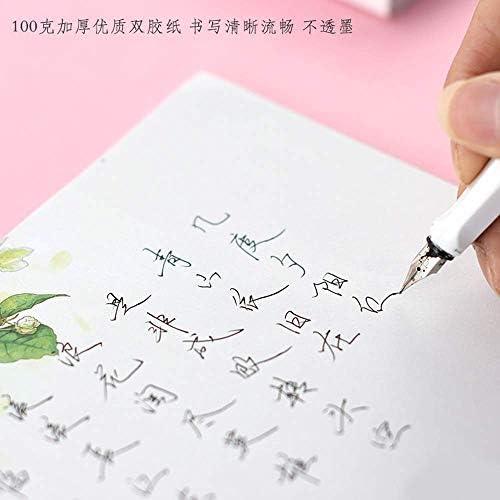 SY-shop Schönes altes Briefpapier-Kunst-Zeichen-Briefpapier-Romantisches Farbliebesbrief-kreatives hartes Stift-Kalligraphie-Papier