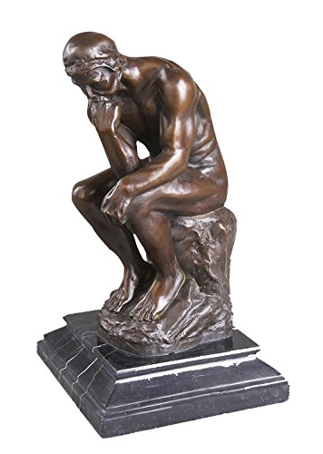 - Toperkin Famous Collection The Thinker Rodin Figurines Bronze Statues Sculptures TPY-096