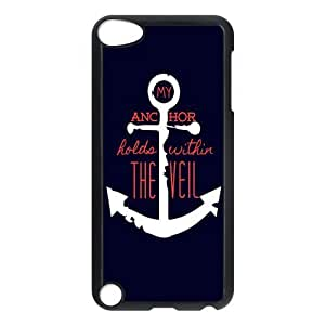 Custom Anchor Back Cover Case for ipod Touch 5 JNIPOD5-358
