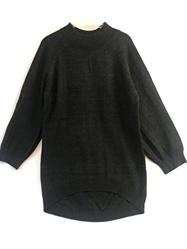 Nice Blend 4 Thee Women's Long Sweater Pullover, Long Sleeve, Wide Baloon Sleeve, Oversized, Casual Sweater, Loose Fit Dress