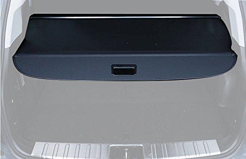 caartonn Cargo cover for 2014 2015 2016 2017 2018 Mitsubishi Outlander Trunk Retractable Cargo Luggage Security Shade Cover Shield Black(with Nopower Rear Door)