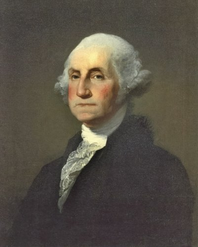 Stuart Photograph (New 8x10 Photo: Gilbert Stuart Portrait of George Washington)
