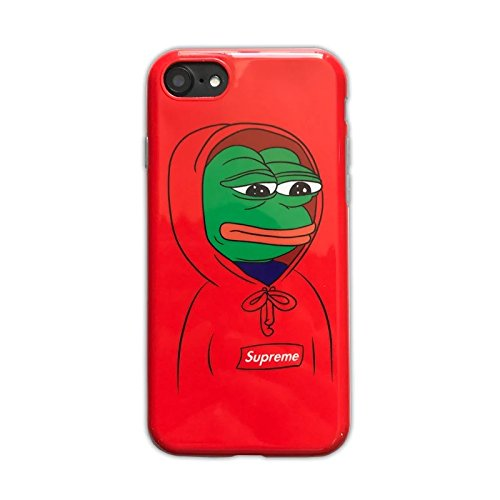 sports shoes f7800 71015 Supreme iPhone Series Protective Cases Street Fashion Pepe The Frog(iPhone  6/6s)