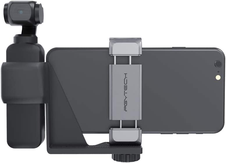 PGYTECH Huaye Phone Holder Mobile Bracket Filter Skin Gimbal Camera Hood Handheld Bag Case Compatible with DJI OSMO Pocket Accessories Phone Holder Expansion Set
