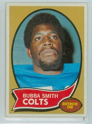 - 1970 Topps Football 114 Bubba Smith ROOKIE Baltimore Colts Near-Mint Plus