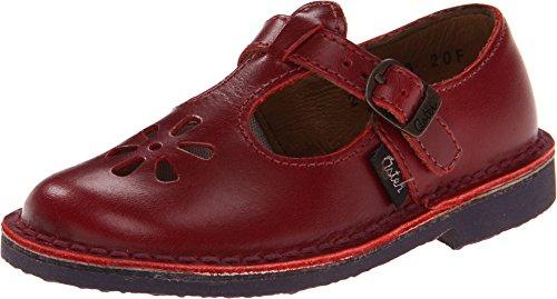 Aster Kids Girls Dingo Red Flats 24 (US 7 Toddler) M ()